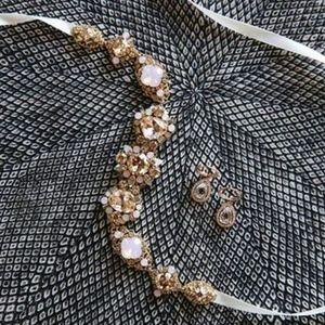 Swarovski Crystal Rose Gold Belt